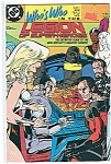 Click here to enlarge image and see more about item J0085: Who's who in the legion - DC comics # 5 Sept. 88