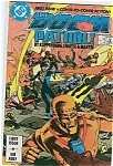 Click here to enlarge image and see more about item J0166: DOOM PATROL!  DC comics  # 1  Oct. 87
