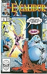 Click here to enlarge image and see more about item J0220: EXCALIBUR - Marvel comics - # 2 Nov. 1988