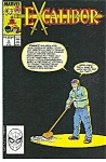 Click here to enlarge image and see more about item J0221: EXCALIBUR - Marvel comics - # 4 Jan.89