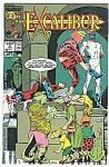 Click here to enlarge image and see more about item J0224: EXCALIBUR -Marvel comics - # 9 June 1989