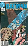 Click here to enlarge image and see more about item J0254: Batman - DC comics.  # 414  Dec. 87
