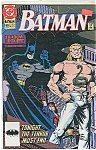 Click here to enlarge image and see more about item J0260: BATMAN - DC comics.  # 469 Sept  91