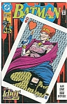 Click here to enlarge image and see more about item J0262: BATMAN - DC comics.  # 472 Dec. 91