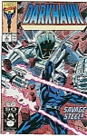Click here to enlarge image and see more about item J0279: DARKHAWK - Marvel comics  # 4 June 91