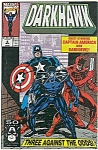 DARKHAWK - Marvel Comics  # 6 Aug. 1991