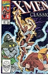 Click here to enlarge image and see more about item J0298: X-Men classic -Marvel comics. # 51  Sept. 90
