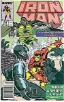 Click here to enlarge image and see more about item J03009: IRON MAN - Marvel comics - # 249 Nov. 1990