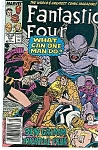 Fantastic Four - Marvel comics.  # 328 July 89
