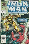 Click here to enlarge image and see more about item J0308: IRON MAN  - Marvel comics - May 87  # 218