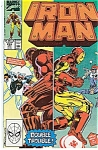Click here to enlarge image and see more about item J0310: IRON MAN  Marvel comics # 255 April 90