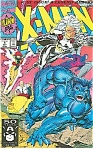 X-MEN #1 1A MARVEL COMICS STORM & BEAST COVER 1991 MINT