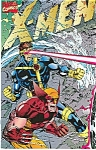 Click here to enlarge image and see more about item J0334: X-Men -  Marvel comics -   Oct. 1991  Vol. 1