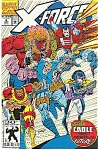 Click here to enlarge image and see more about item J0342: X-Force -Marvel comics  # 8  March 1992