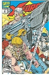 Click here to enlarge image and see more about item J0343: X-Force - Marvel comics -  # 9  April 1992