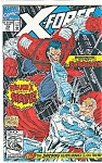 Click here to enlarge image and see more about item J0344: X-Force - Marvel comics - May 1992  # 10