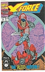 Click here to enlarge image and see more about item J0348: X-Force - Marvel comics.  Sept. 91  # 2