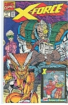 Click here to enlarge image and see more about item J0349: X-Force - Marvel comics.   Aug 1991  # 1