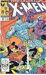 Click here to enlarge image and see more about item J0362: X-Men, Marvel comics - # 231 July 1988