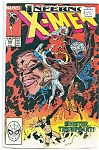 Click here to enlarge image and see more about item J0370: X-Men, Marvel comics - # 243  April 1989