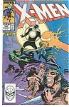 X-Men - Marvel comics.  # 249  Oct. 89