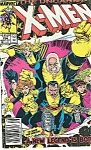 X-Men, Marvel comics.  # 254   1989