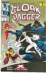 Click here to enlarge image and see more about item J0407: Cloak & Dagger - Marvel comic  # ` Oct. 1988