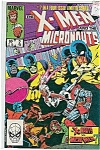 Click here to enlarge image and see more about item J0409: X-men and the Micronauts -Marvel comics-#2  84
