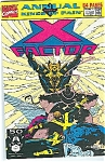Click here to enlarge image and see more about item J0428: X-Factor annual - Marvel comics # 6 1991