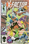 Click here to enlarge image and see more about item J0430: X-Factor - Marvel  comics  - Octr. 1986  # 9