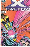 Click here to enlarge image and see more about item J0432: X-Factor - Marvel comics -  # 14  March 1987