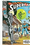 Click here to enlarge image and see more about item J0478: Superman = DC comics  Aug  1990  # 46