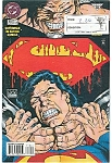 Click here to enlarge image and see more about item J0486: Superman - DC comics #$ 713  Sept. 95