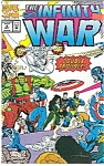 THE  INFINITI WAR - mARVEL COMICS  #4   Sept.92