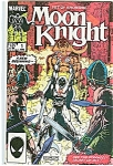 Click here to enlarge image and see more about item J0579: Moon Knight - Marvel comics  - # 1  June 1985