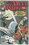 Click here to enlarge image and see more about item J0592: Moon Knight - Marvel comics -  # 14 - May 1990