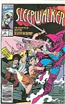 Click here to enlarge image and see more about item J0636: Sleepwalker - Marvel comics - # 4 Sept. 1991