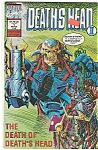 DEATH'S HEAT - Marvel comics - # 1 March  1992