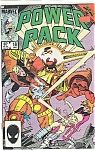 Click here to enlarge image and see more about item J0670: Power Pack  - Mar vel comics -  # 18  Jan. 1986