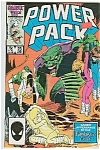 Click here to enlarge image and see more about item J0672: Power Pack - Marvel comics - # 23 June 1986