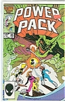 Click here to enlarge image and see more about item J0674: Power pack - Marvel comiccs  Aug 1986 =# 25