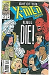 Click here to enlarge image and see more about item J0692: X-Men 2099 -Marvel comics - Dec. 1993   #3