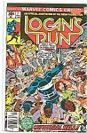 Click here to enlarge image and see more about item J0746: Logan's Run - Marvel comics group- # 2Feb. 1977