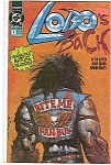 Click here to enlarge image and see more about item J0765: Lobo's Back - DC comics -  # 1  May 1992