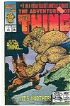 Click here to enlarge image and see more about item J0805: The Thing - Marvel comics - # 1  April 1992