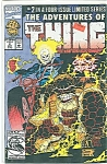 Click here to enlarge image and see more about item J0806: The Thing - Marvel comics - May  # 2 1992