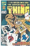 Click here to enlarge image and see more about item J0807: The Thing - Marvel comics - June 1992  # 3