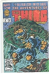 Click here to enlarge image and see more about item J0808: The Thing - Marvel comics -  July 1992