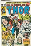 Click here to enlarge image and see more about item J0823: Thor - Marvel comics group - # 262   August 1977