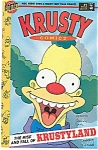 Click here to enlarge image and see more about item J0862: Krusty comics - Bongo comics - # 1  1995